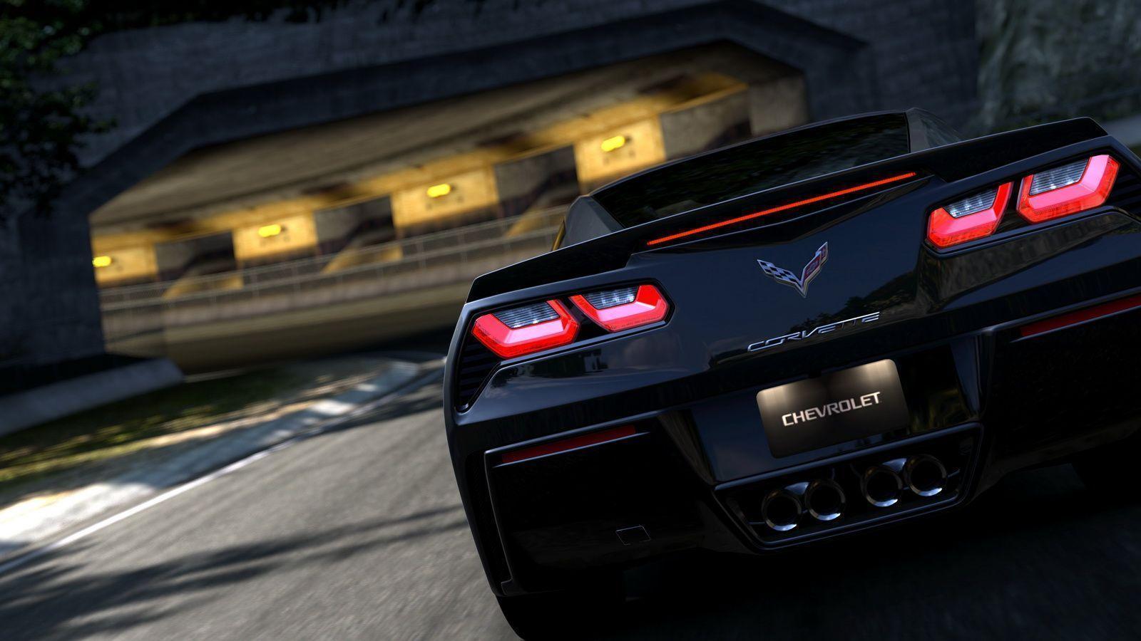 c4 corvette wallpaper