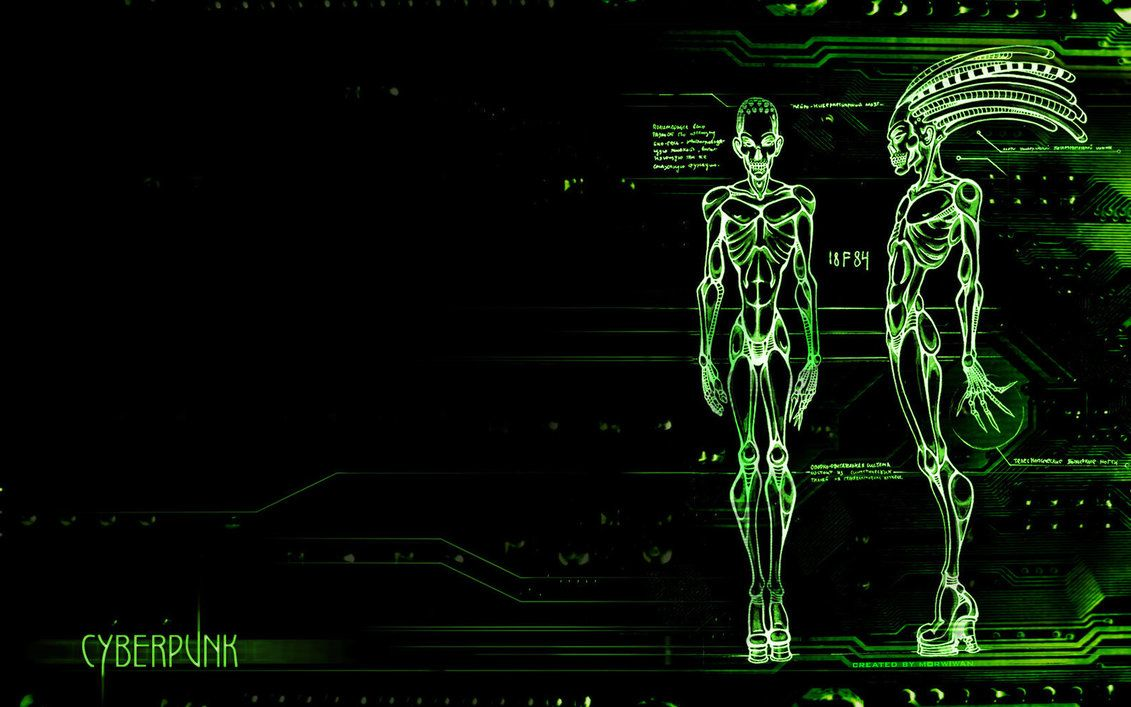 cyber punk background