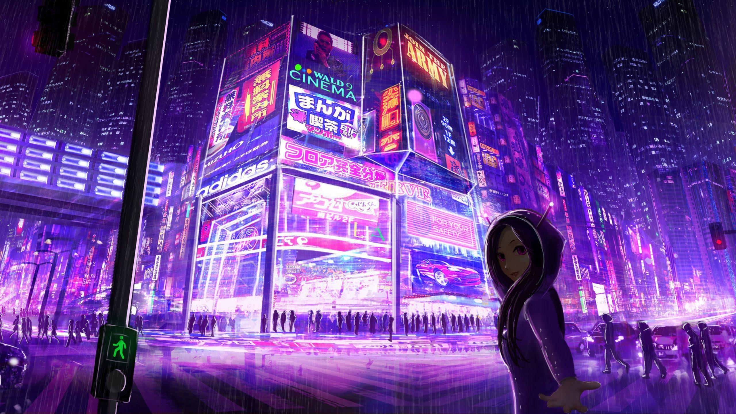 wallpaper cyberpunk free