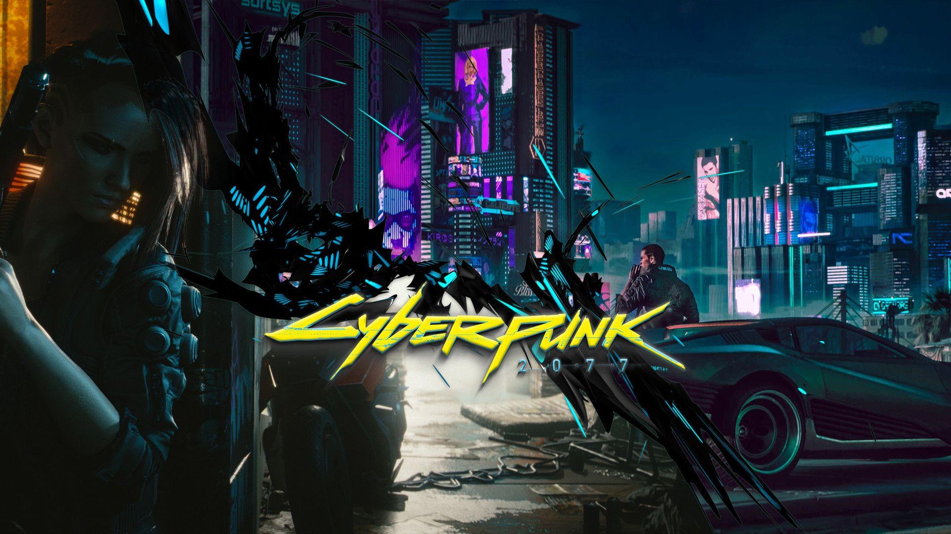 cyberpunk wallpaper hd free