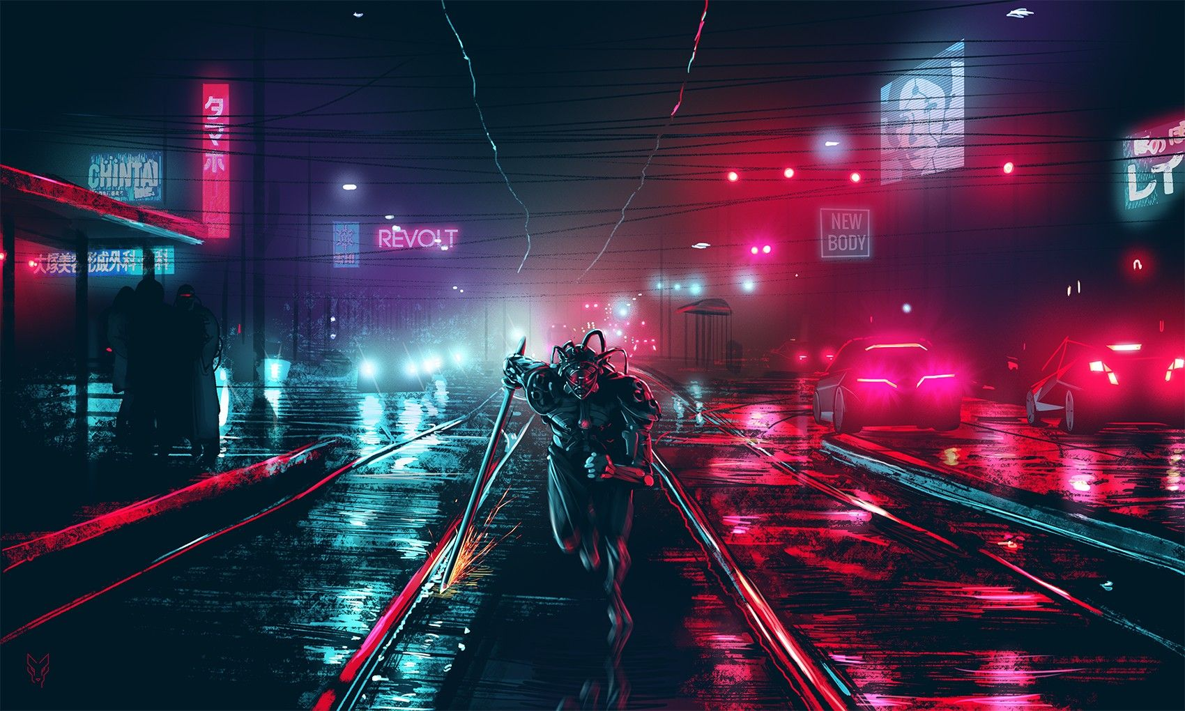 cyber punk wallpapers