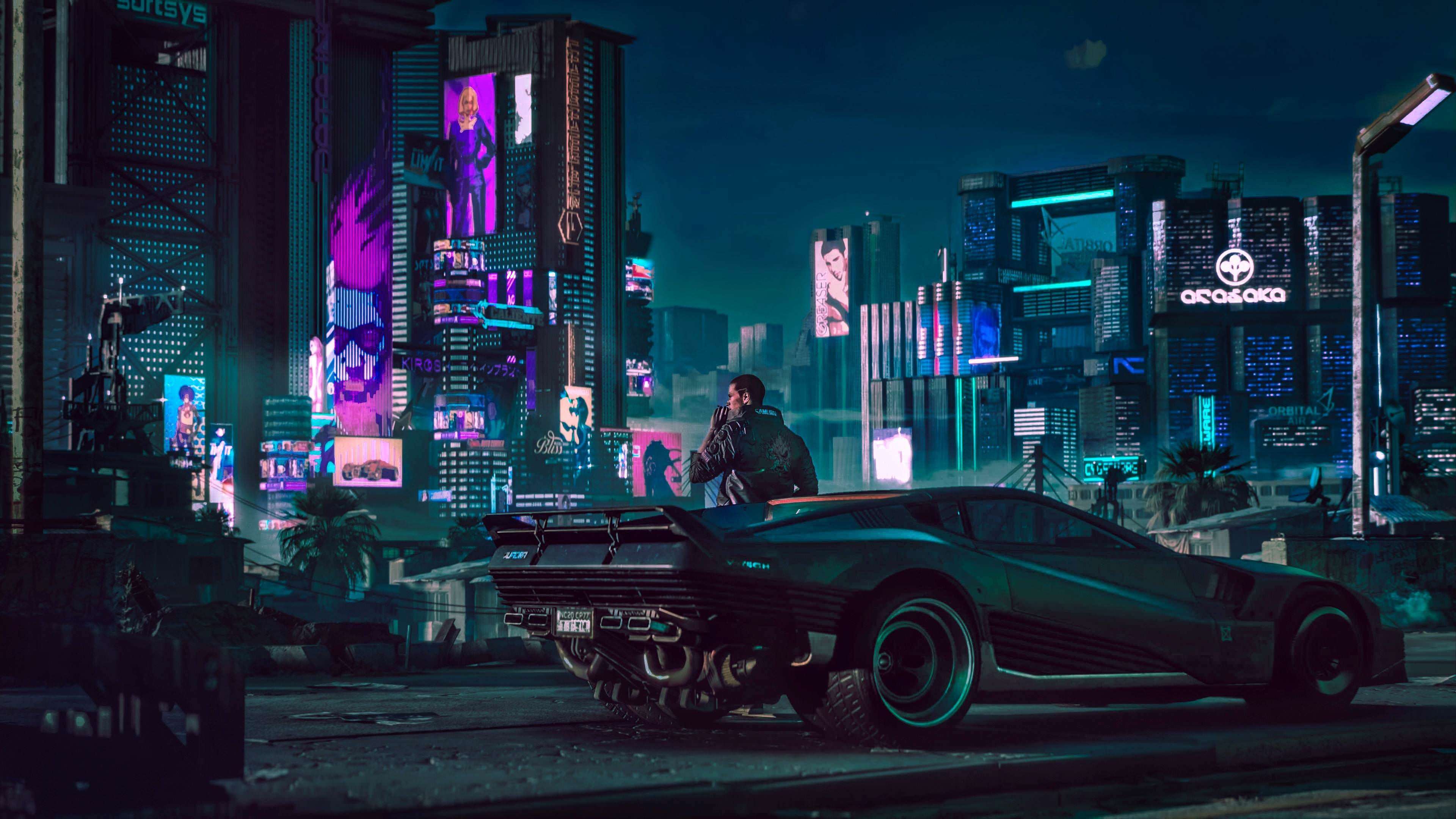 cyberpunk 2077 wallpaper 4k