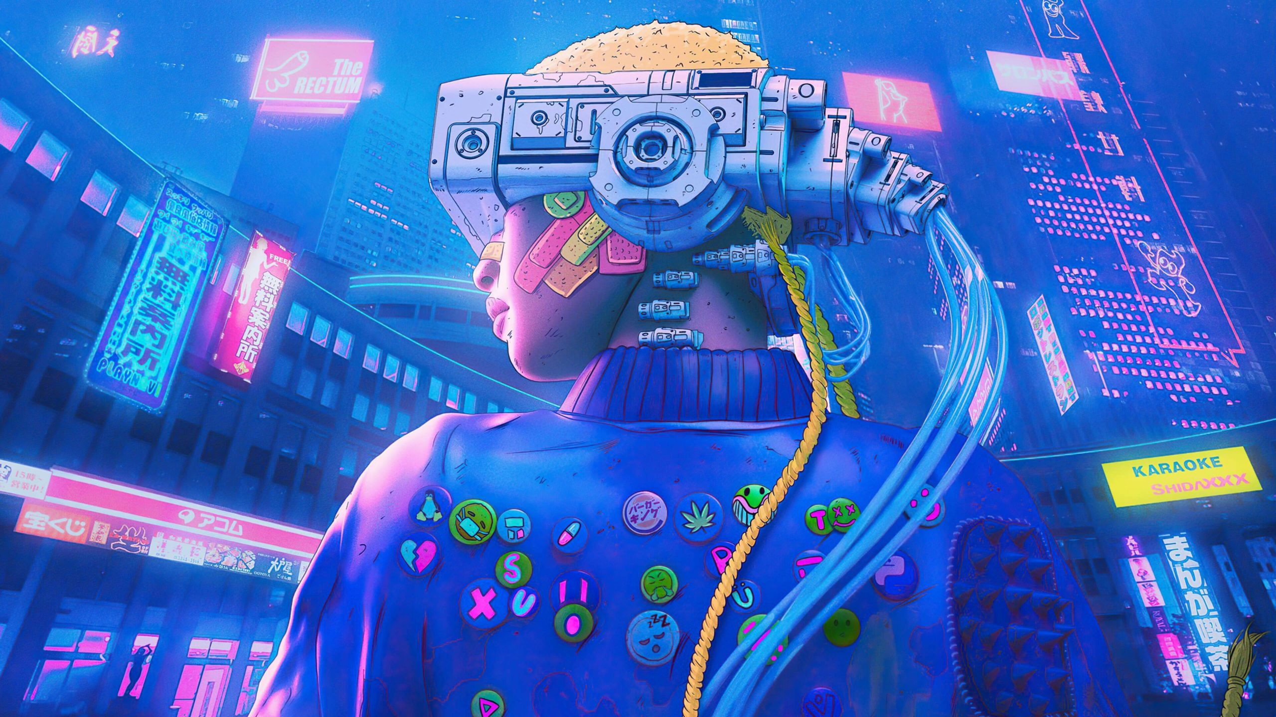 cyberpunk pictures free hd