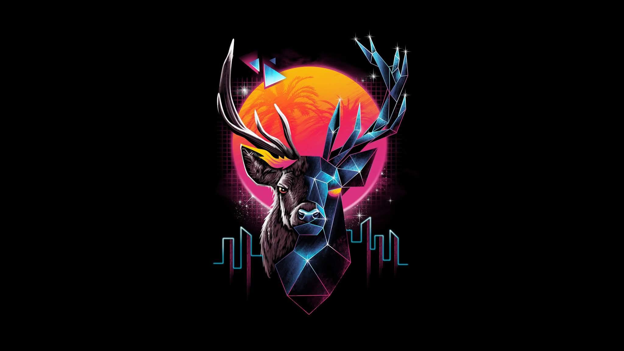 free deer wallpaper hd