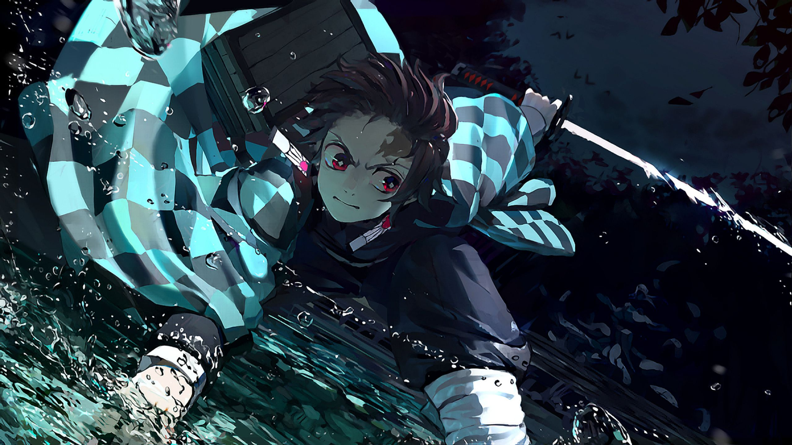 demon slayer hd background
