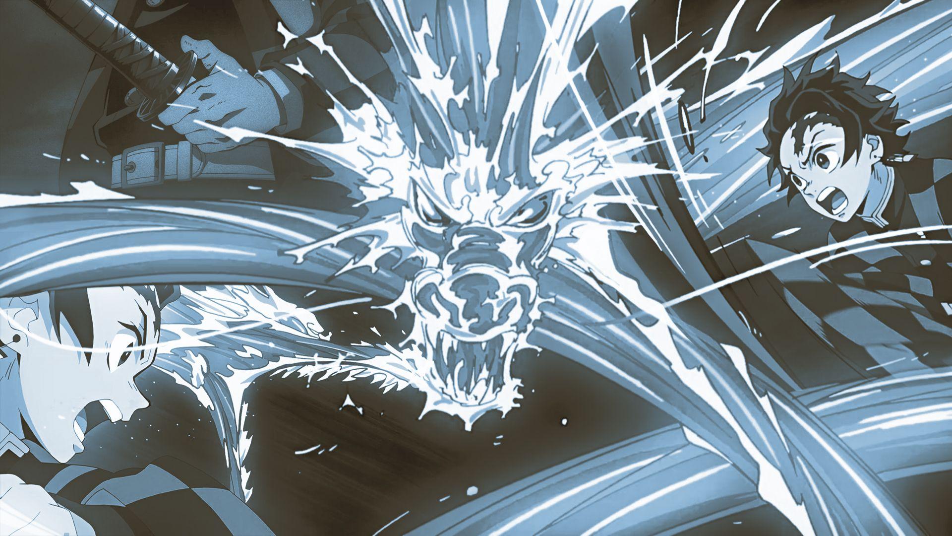 demon slayer laptop wallpaper
