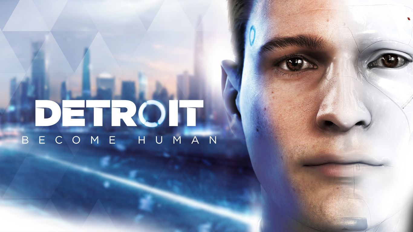 connor detroit become human wallpaper