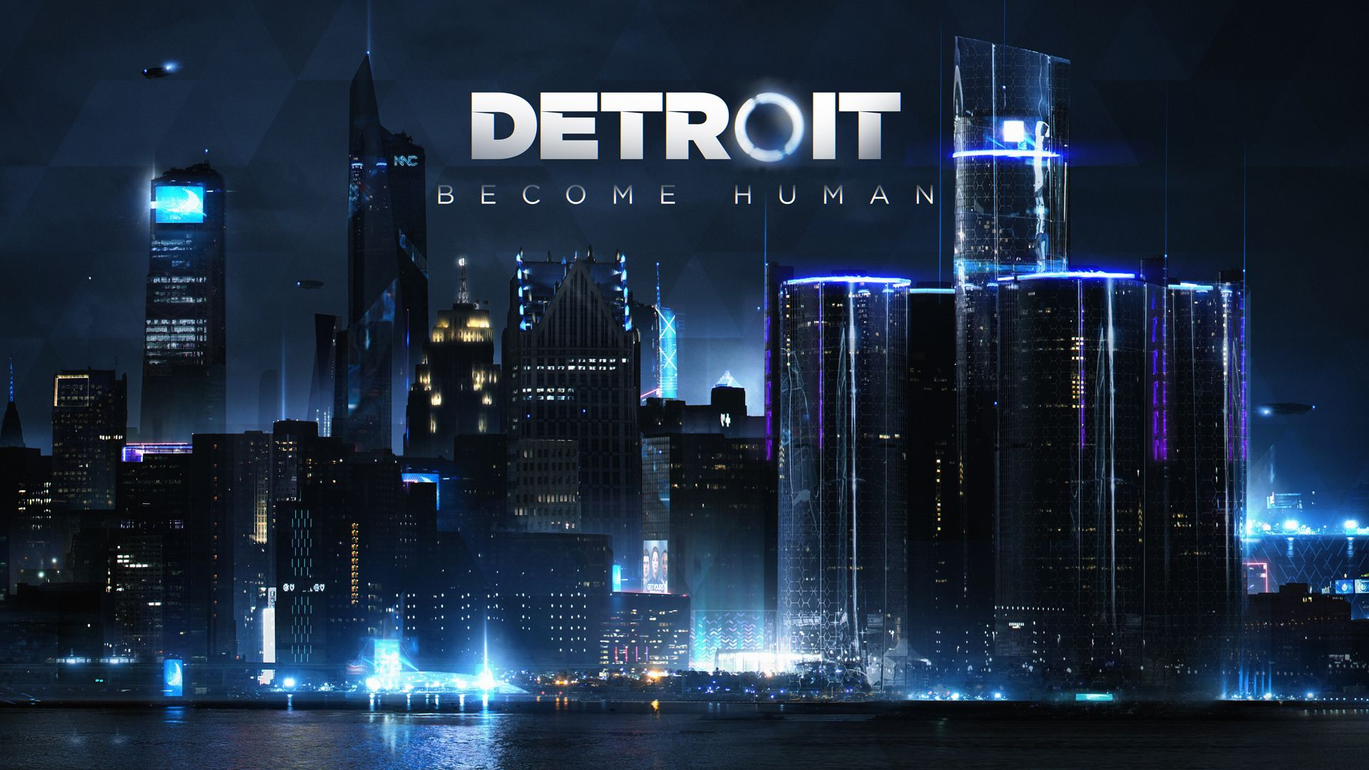 detroit become human connor wallpaper