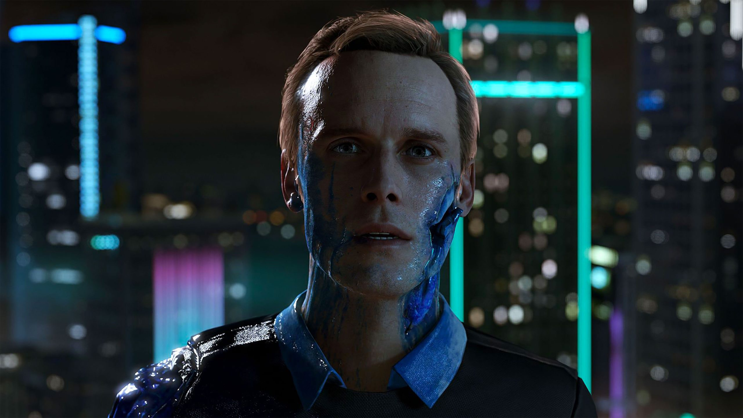 detroit become human wallpaper 1920x1080