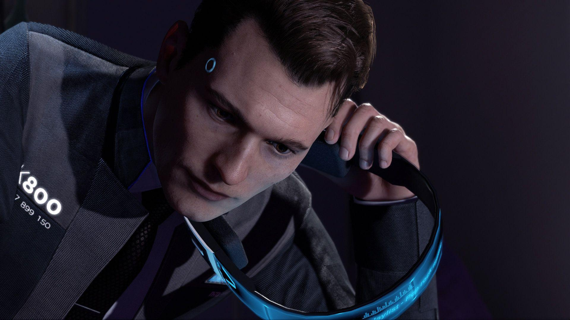 connor detroit become human wallpapers