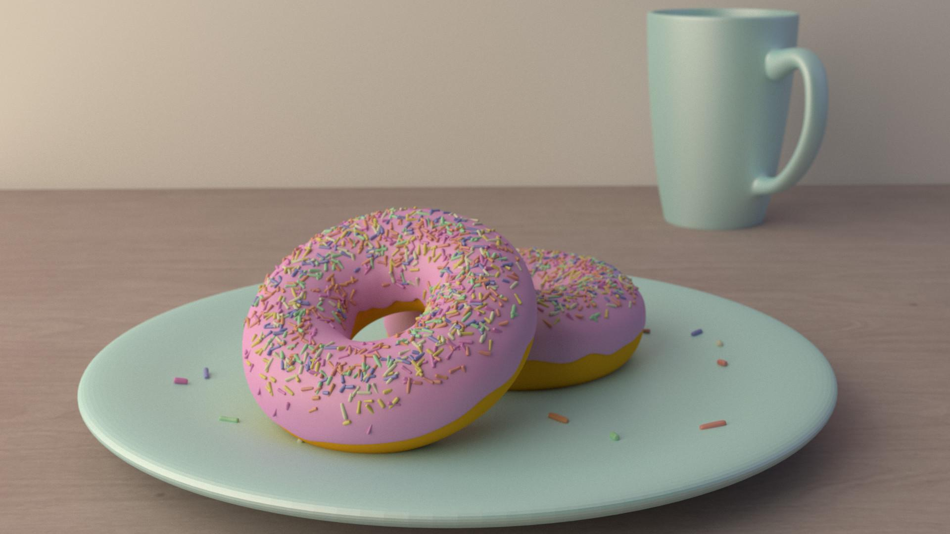 donut wallpaper for walls