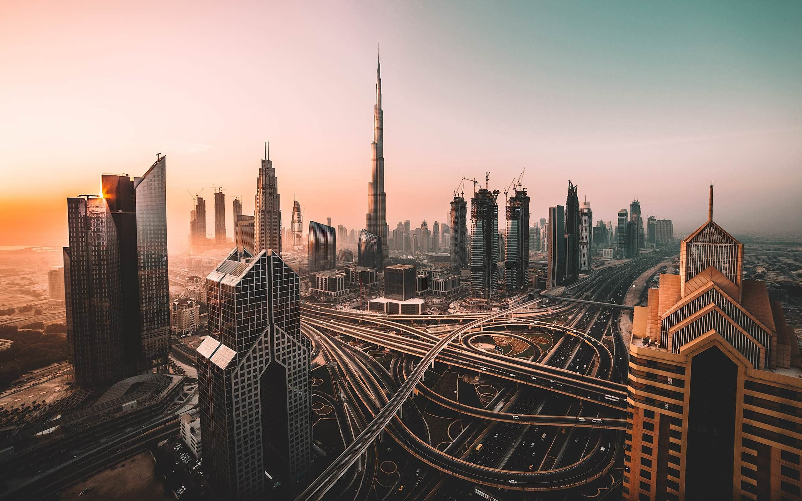 dubai city wallpaper
