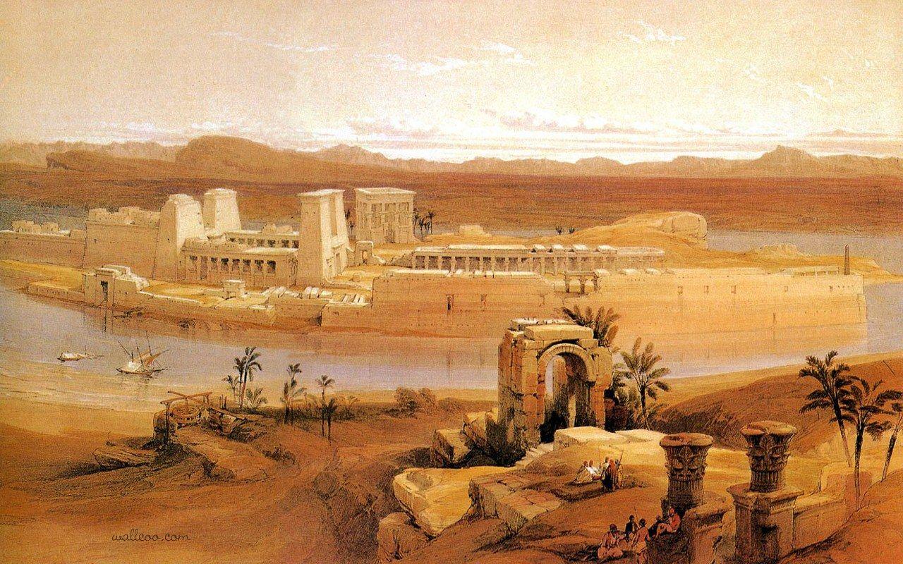 egyptian scenery