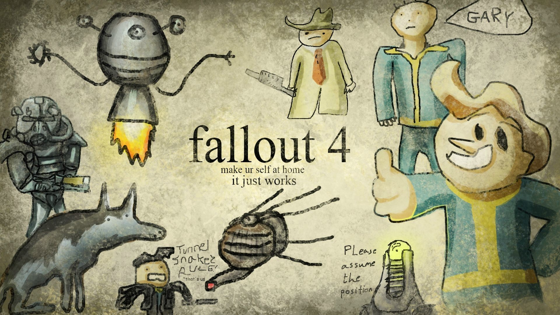 hd fallout wallpapers