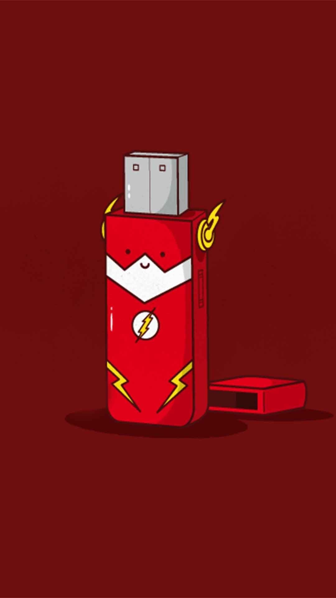 the flash superhero wallpaper, flash symbol wallpaper