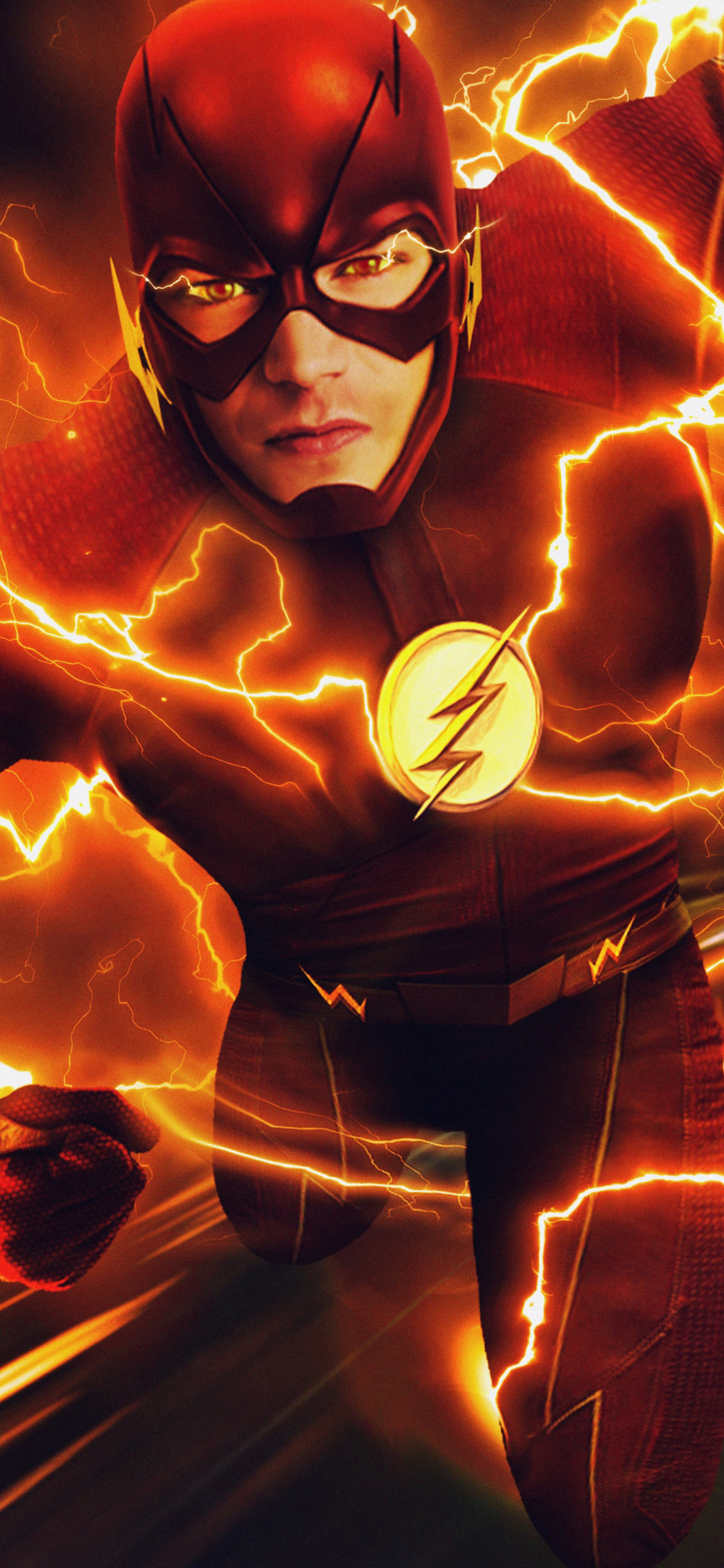 blue flash wallpaper, the flash hd