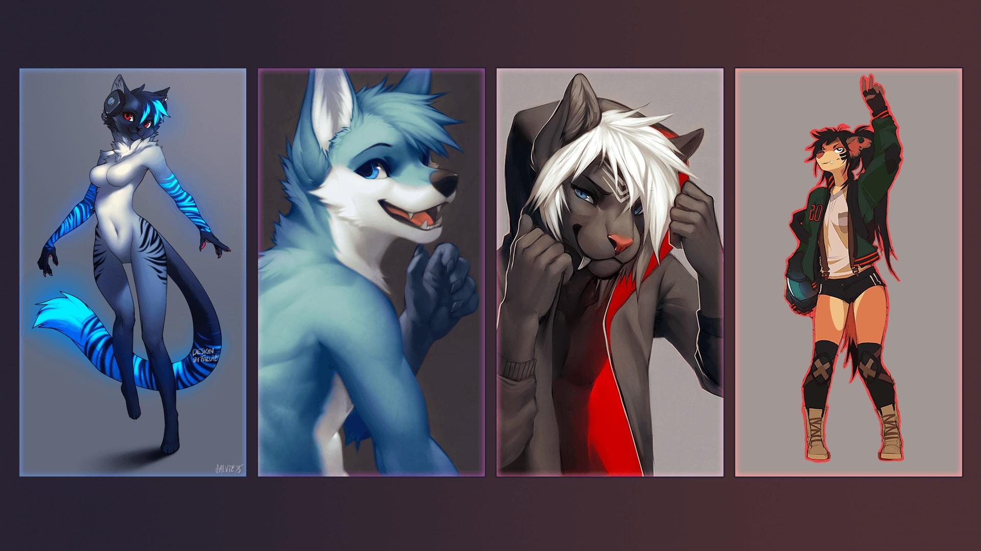 furry art wallpaper