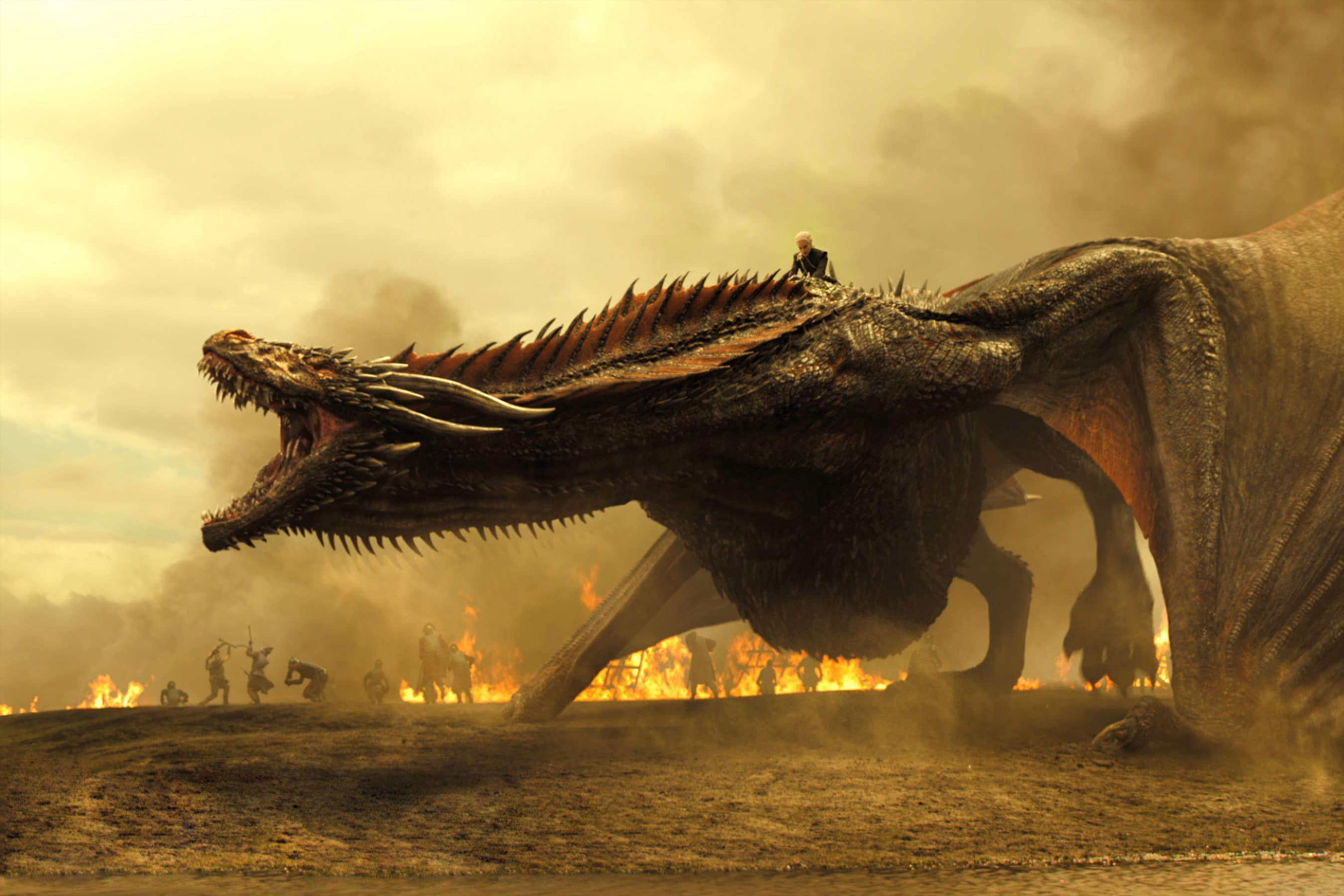 game of thrones wallpaper, drogon wallpapers