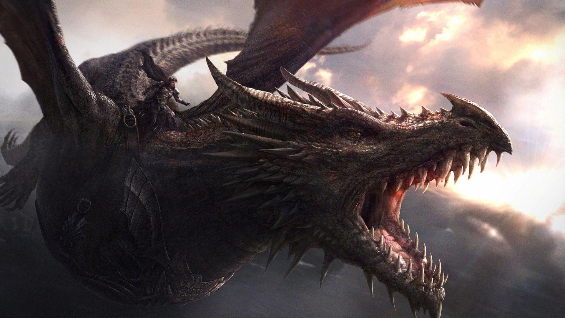 1920x1080 wallpaper game of thrones, game of thrones dragon art