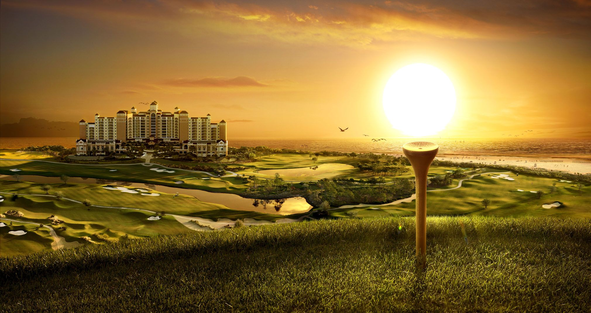 golfcourse wallpapers