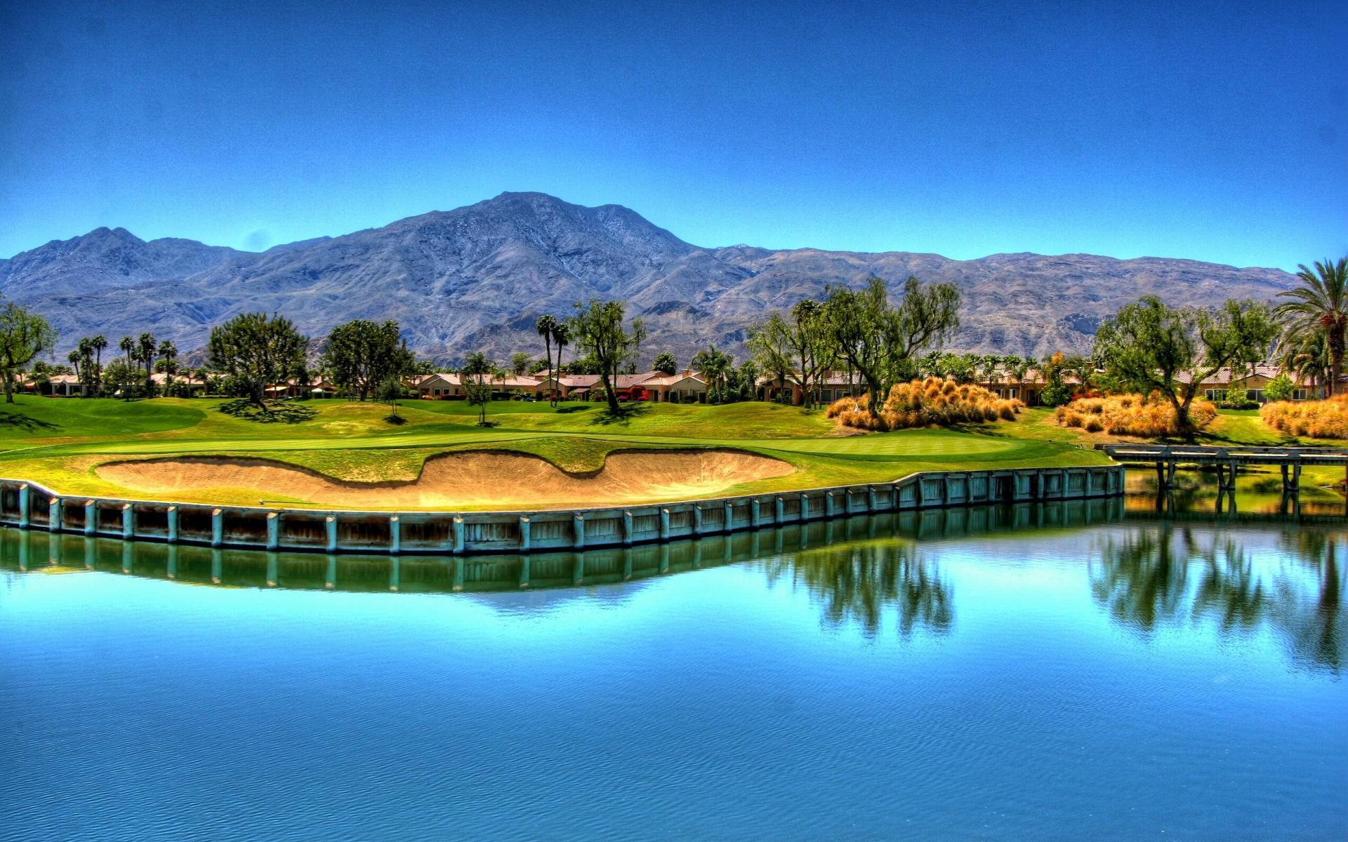 golf courses backgrounds