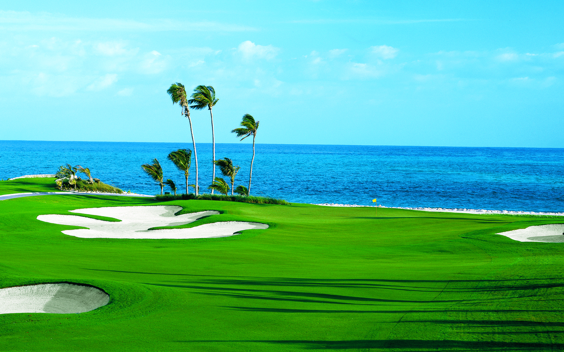 golf courses background