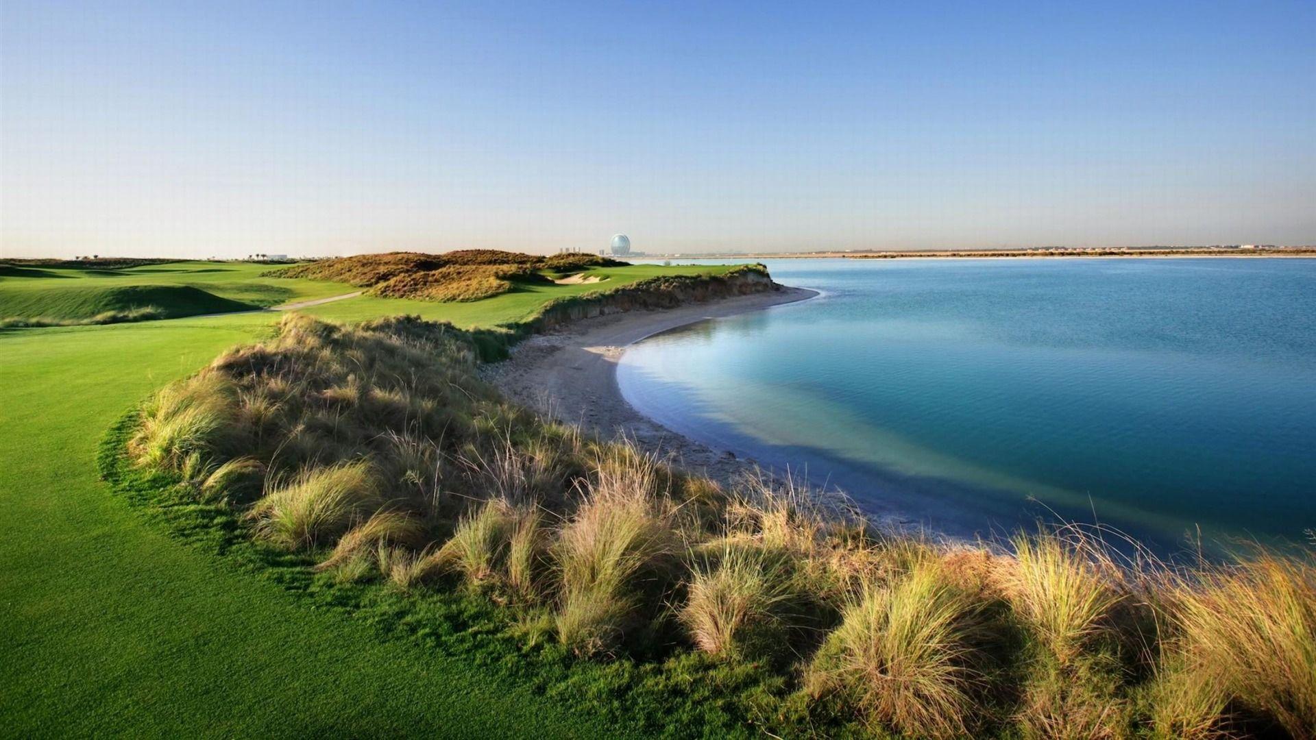 golf course wallpaper