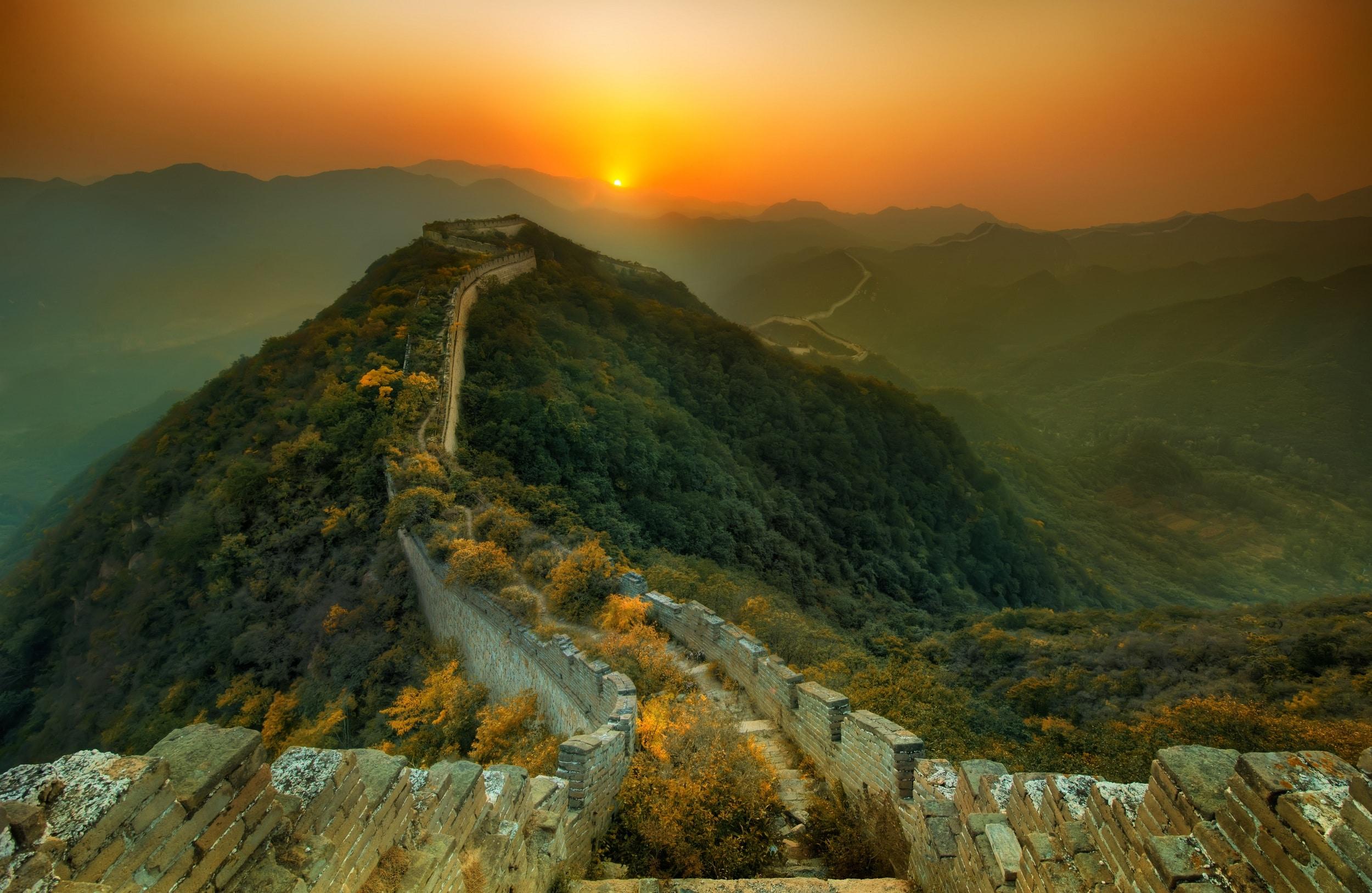 great wall of china hd