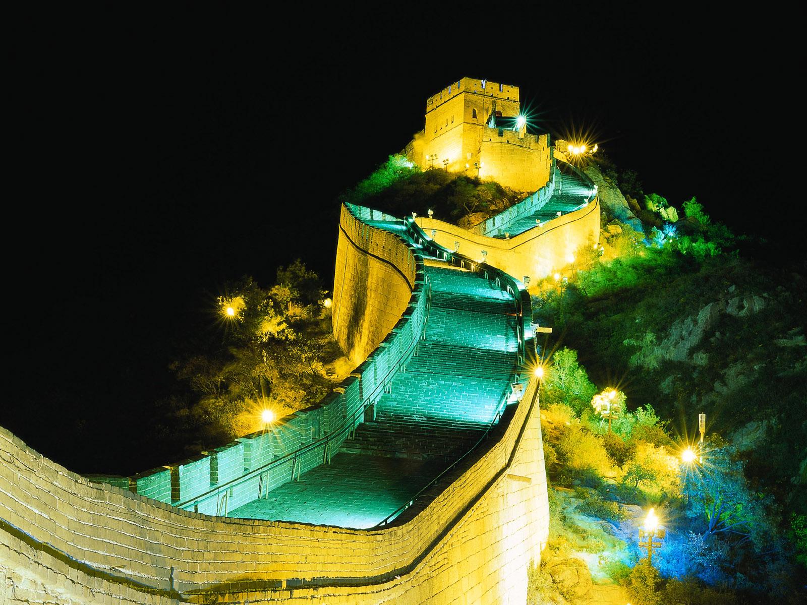 image of china wall