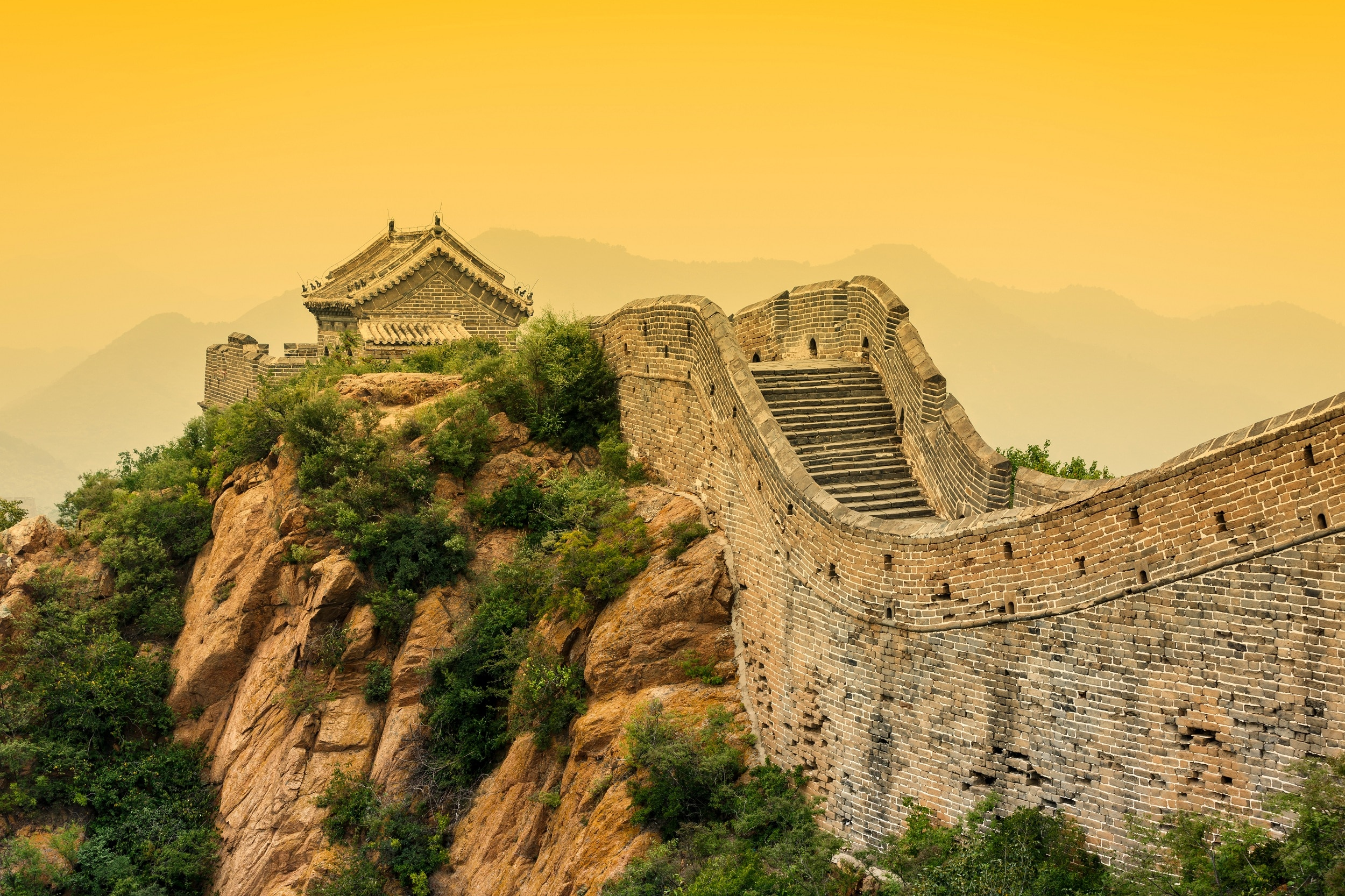 pic of great wall of china