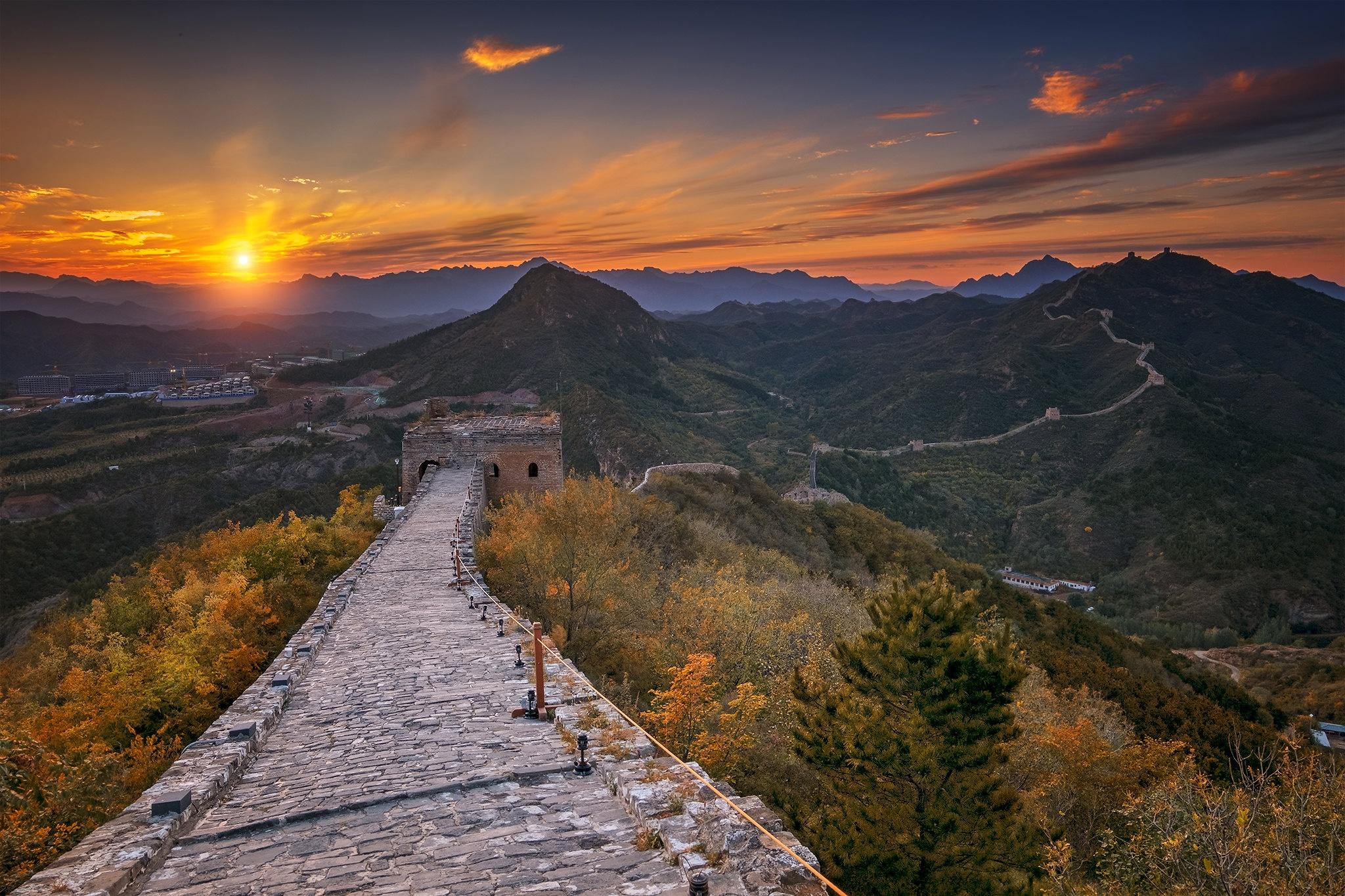 photos of great wall of china