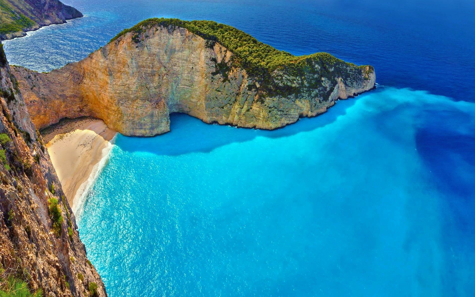 greece desktop background