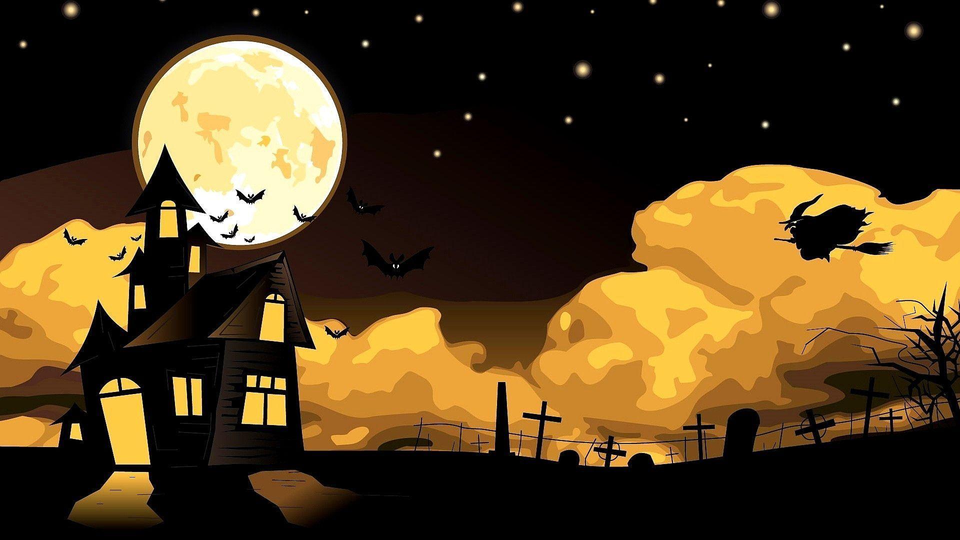 halloween desktop wallpapers free
