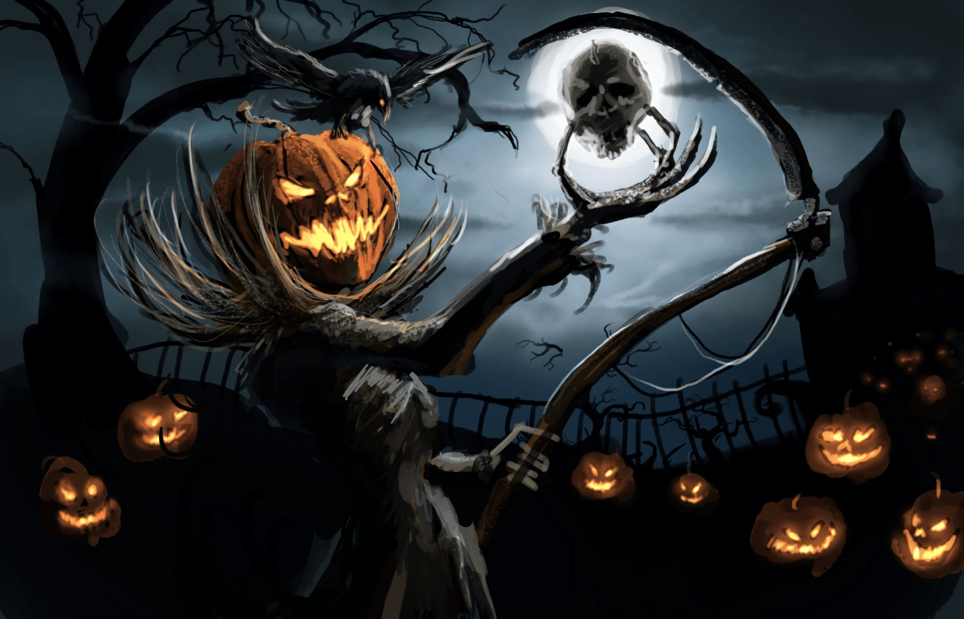 halloween free wallpaper