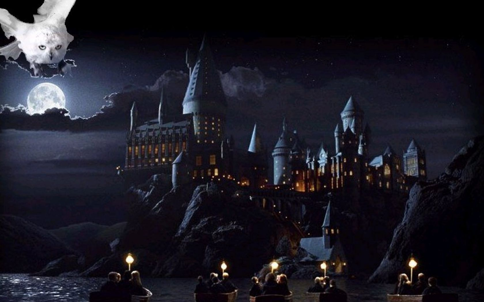 hogwarts screensaver