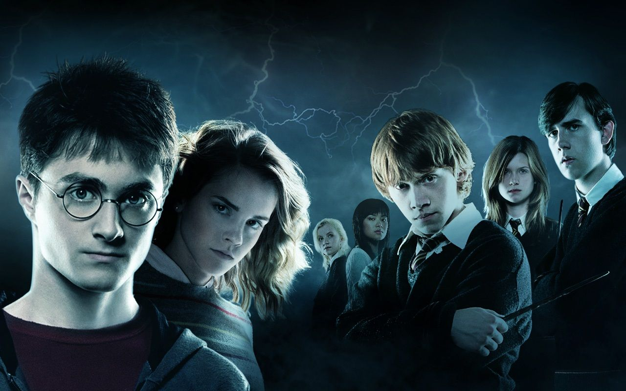 dual monitor wallpaper harry potter