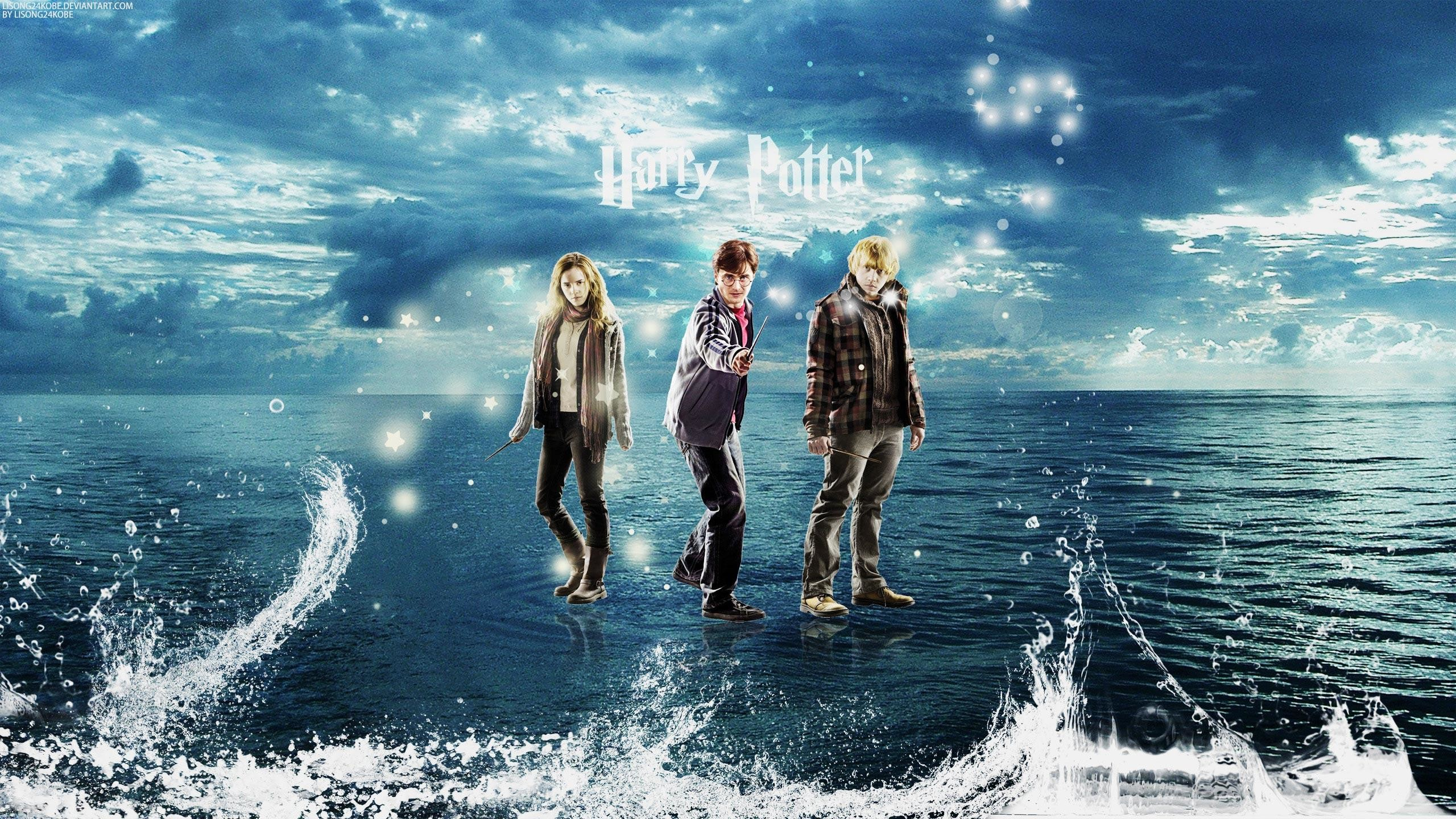harry potter deathly hallows wallpapers