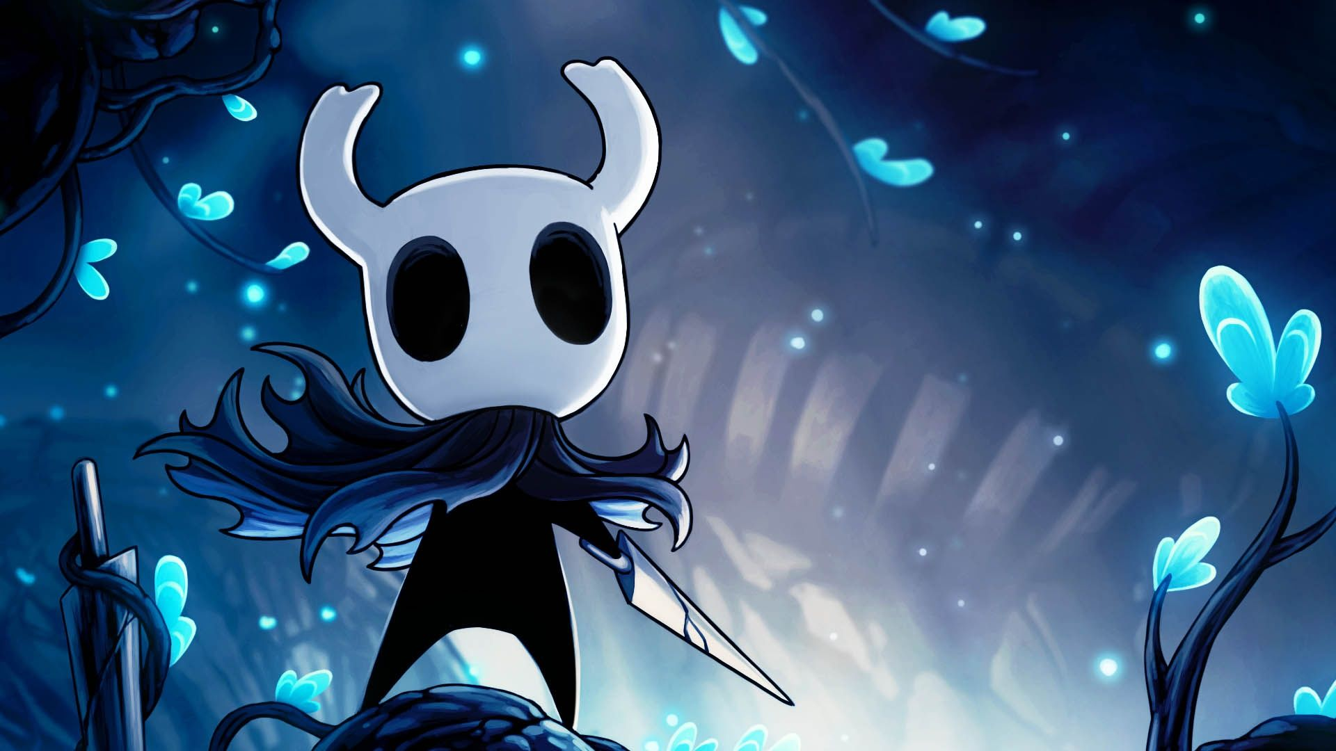 hollow knight computer background wallpapers