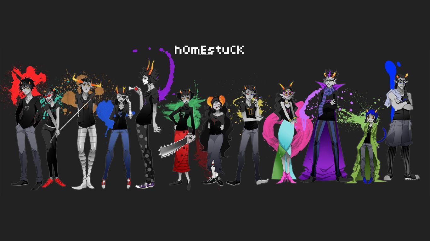 homestuck desktop kit
