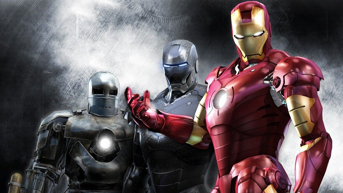 iron man 3d wallpaper