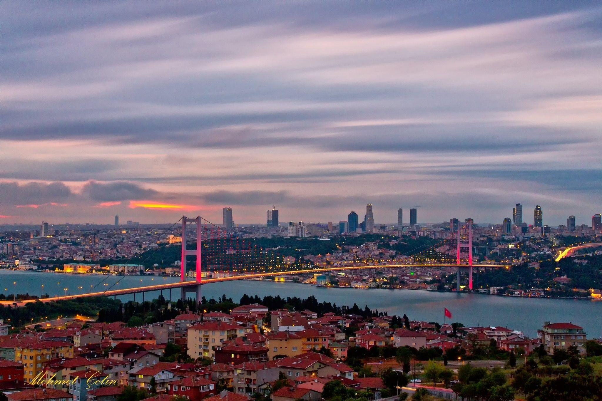 istanbul 4k wallpaper