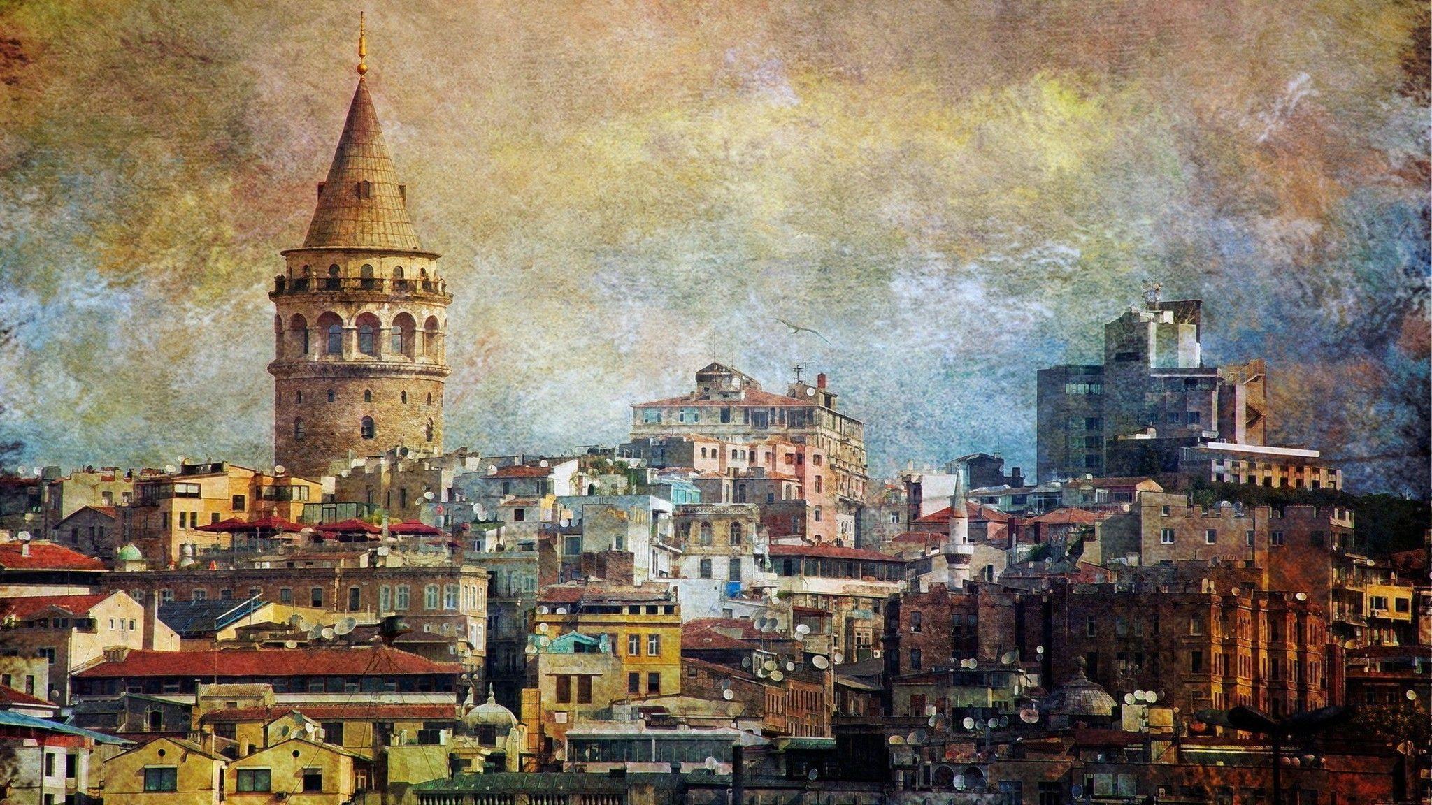 istanbul city wallpaper