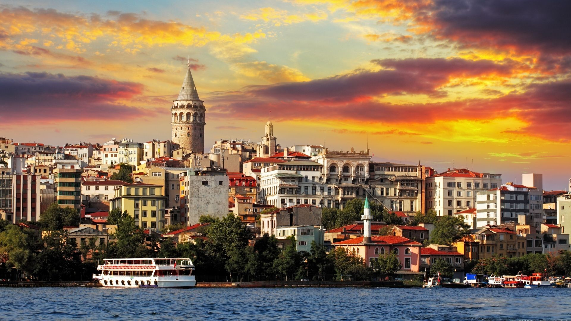 istanbul night wallpapers hd