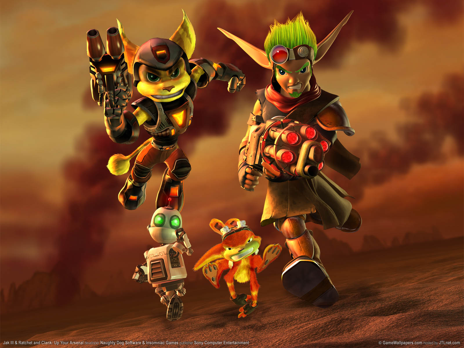 jak and daxter collection wallpapers