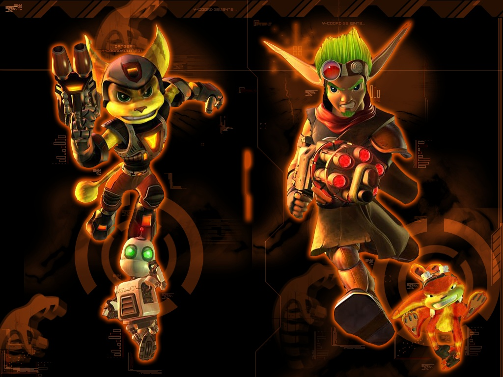 jak and daxter characters wallpapers