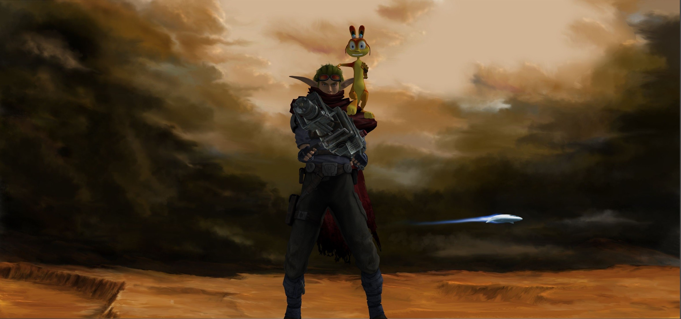 jak and daxter dark eco wallpapers