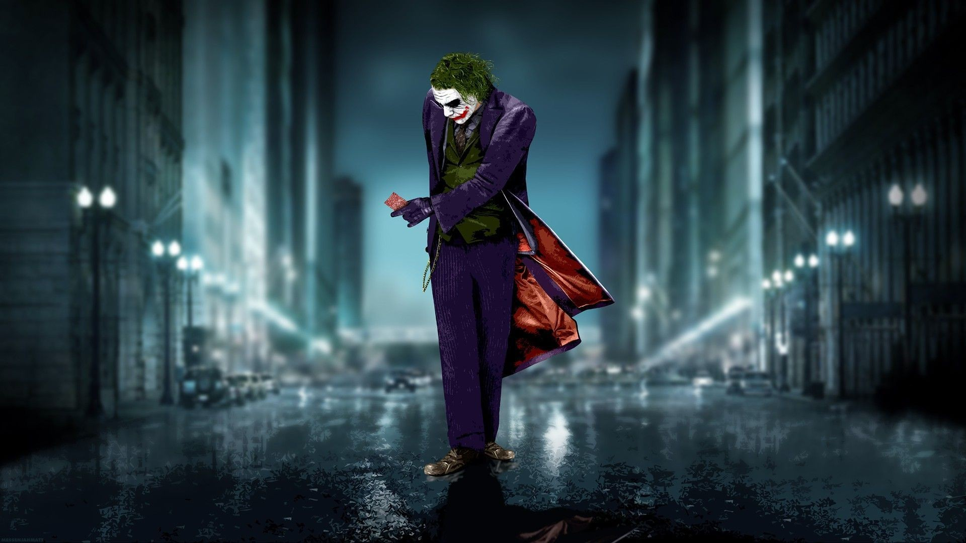 joker wallpaper dark