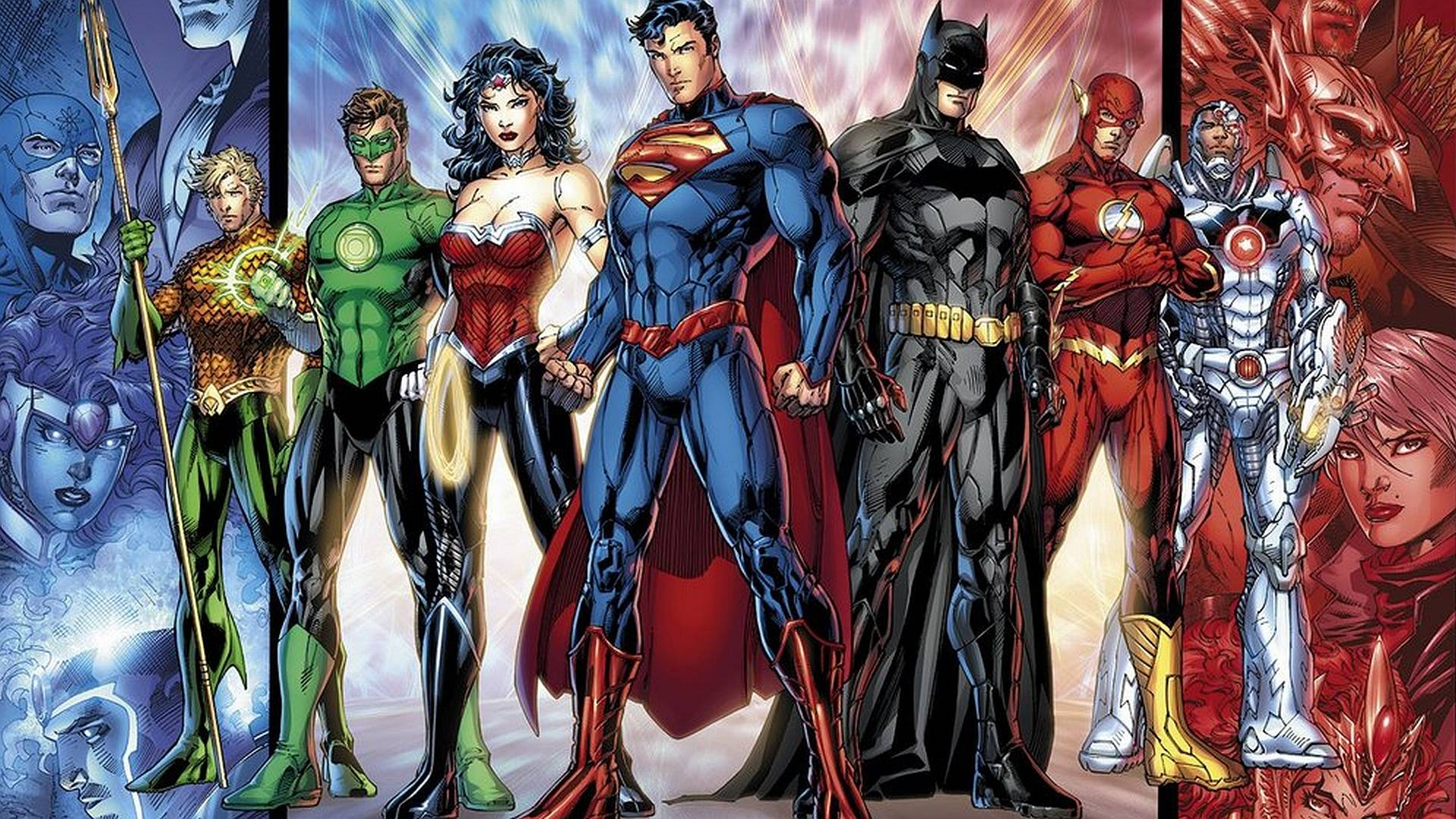 justice league 4k wallpaper
