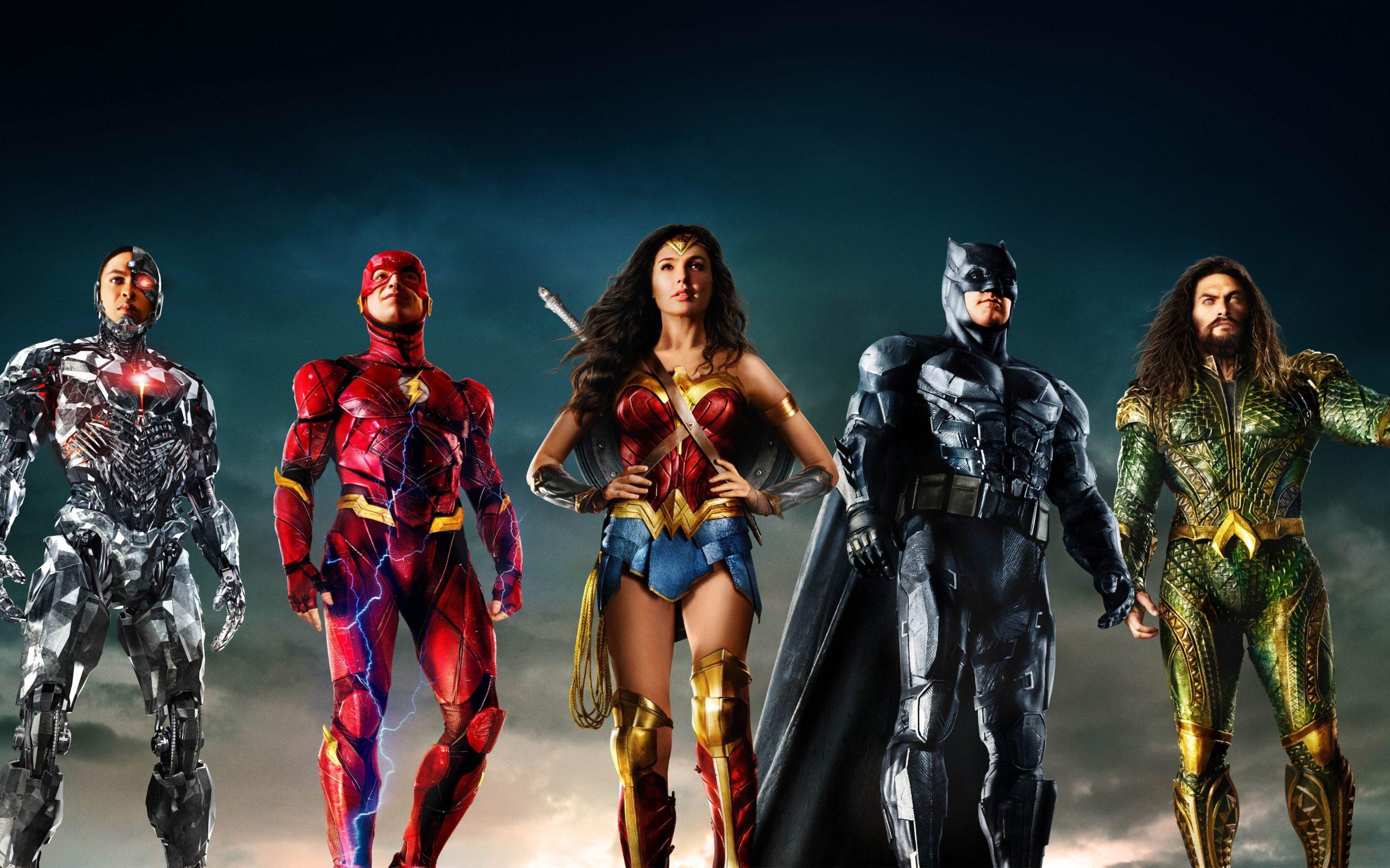 justice league desktop wallpaper