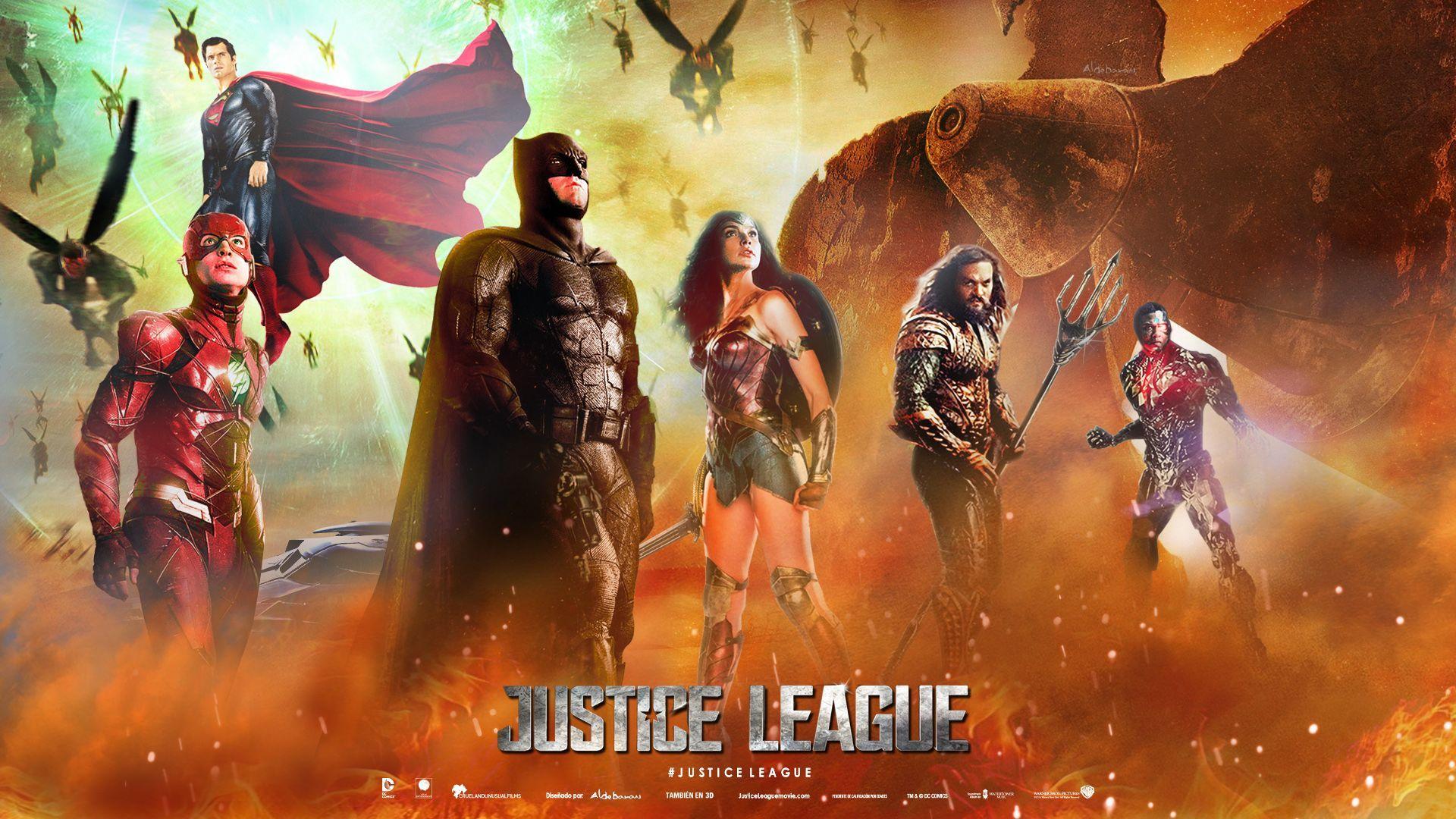 justice league screensaver
